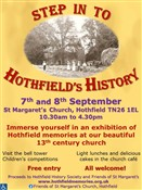 Advert: Step in to Hothfield's History Exhibition 2019