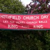 Mysterious Church Day banners