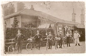 Photo:Butchers Shop on corner of West Street