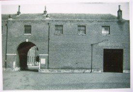 Photo:Another view of the stables from 1957