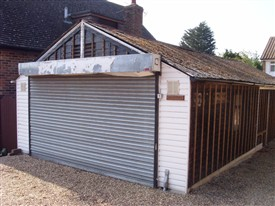 Photo:The former NAAFI hut was last known as 'Top Shop'