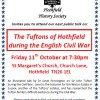 Page link: The Tufton Family of Hothfield during the English Civil War